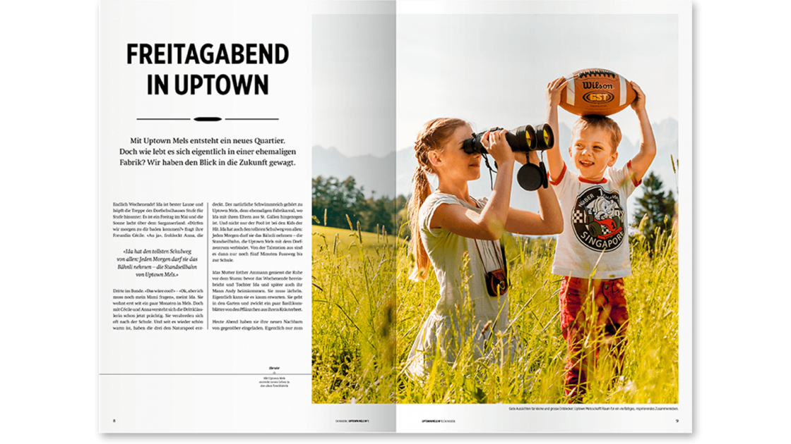 Uptown Mels Magazin No 1